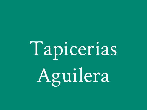 Tapicerias Aguilera