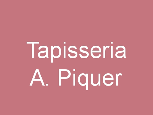 Tapisseria A. Piquer