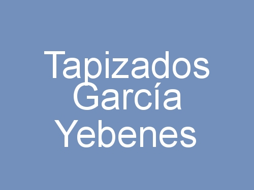 Tapizados García Yebenes