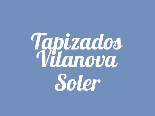 Tapizados Vilanova Soler