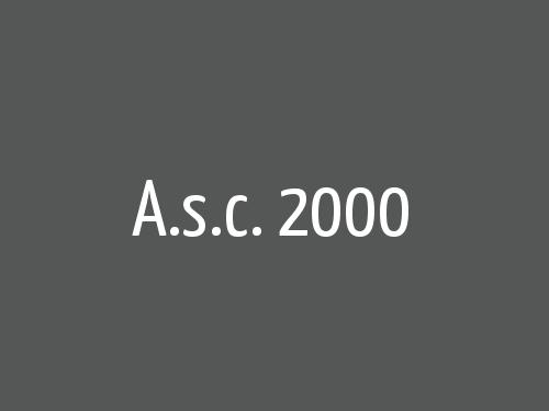 A.s.c. 2000