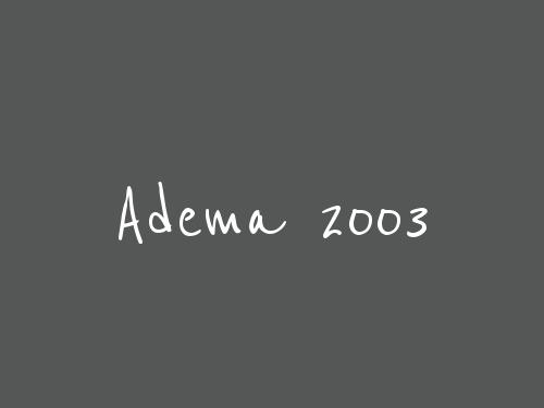 Adema 2003
