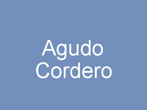 Agudo Cordero