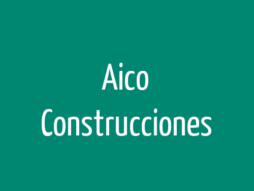 Aico Construcciones