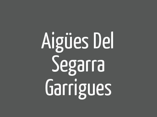 Aigües Del Segarra Garrigues