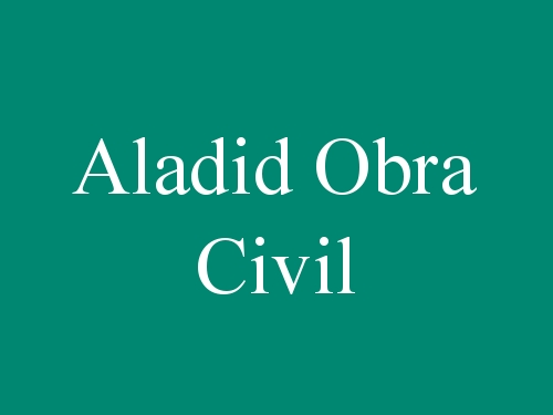 Aladid Obra Civil