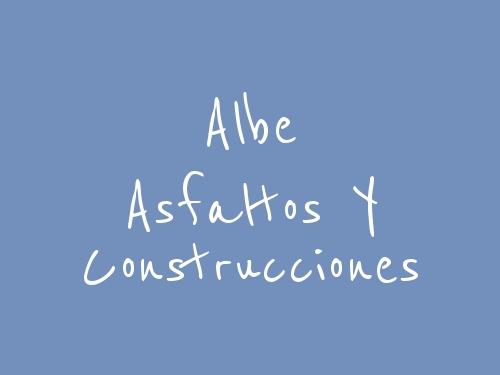 Albe Asfaltos Y Construcciones