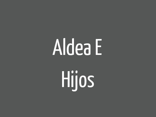 Aldea E Hijos