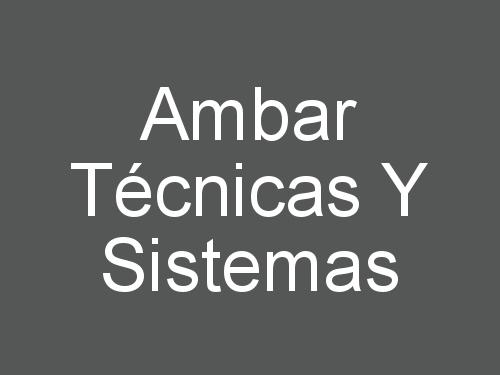 Ambar Técnicas Y Sistemas
