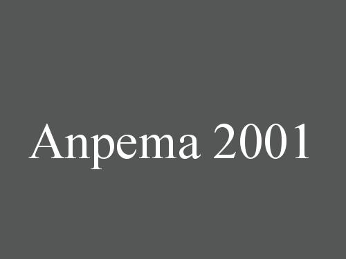 Anpema 2001