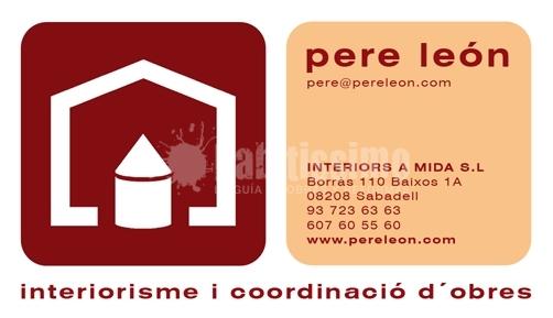 Pere León Interiorismo y Coordinación de Obras