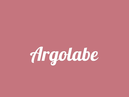 Argolabe