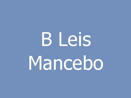 B Leis Mancebo