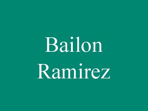 Bailon Ramirez