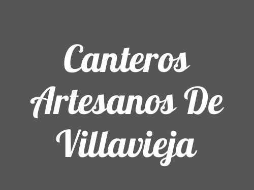 Canteros Artesanos De Villavieja