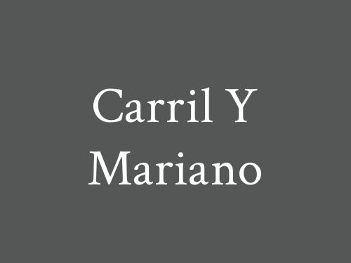Carril Y Mariano