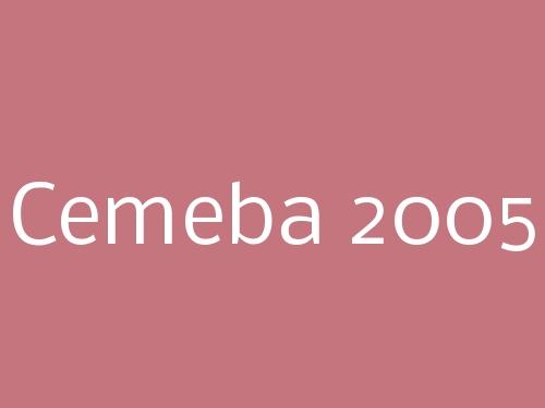 Cemeba 2005