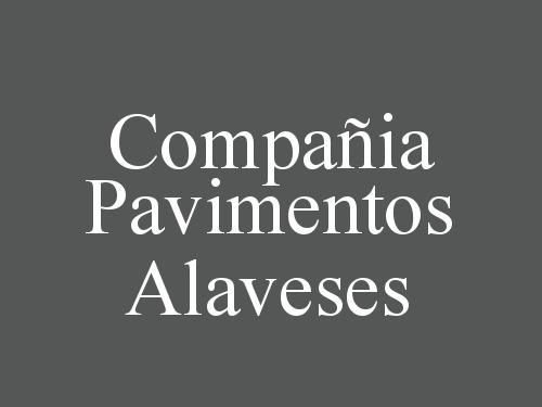 Compañia Pavimentos Alaveses