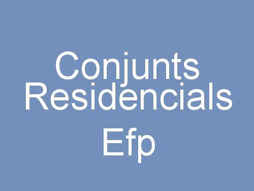 Conjunts Residencials Efp