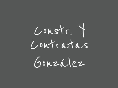 Constr. Y Contratas González