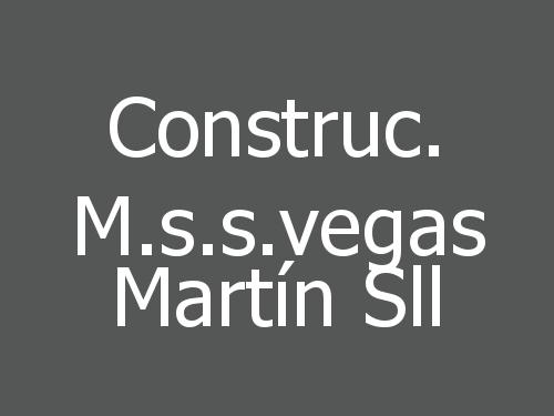 Construc. M.s.s.vegas Martín Sll