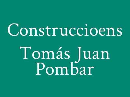 Construccioens Tomás Juan Pombar