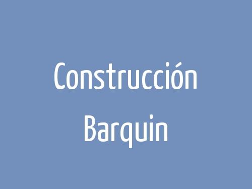 Construcción Barquin
