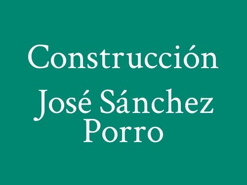 Construcción José Sánchez Porro