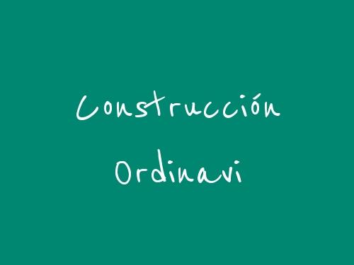 Construcción Ordinavi