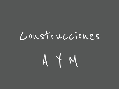 Construcciones A Y M