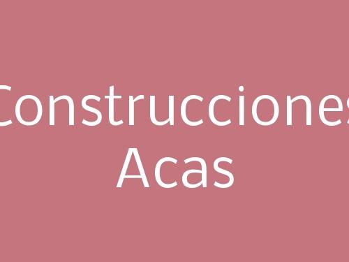 Construcciones Acas