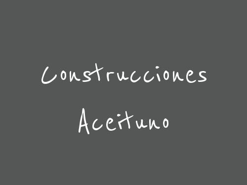 Construcciones Aceituno