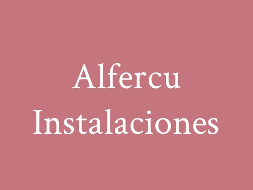 Alfercu Instalaciones