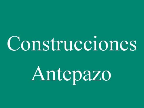 Construcciones Antepazo