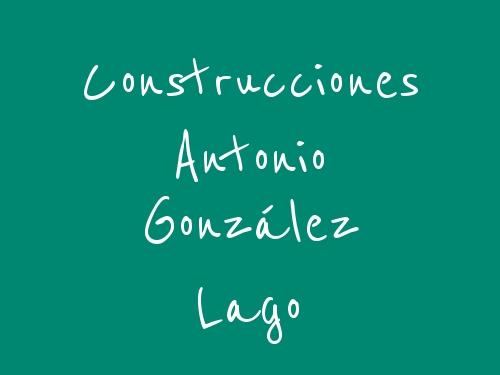 Construcciones Antonio González Lago
