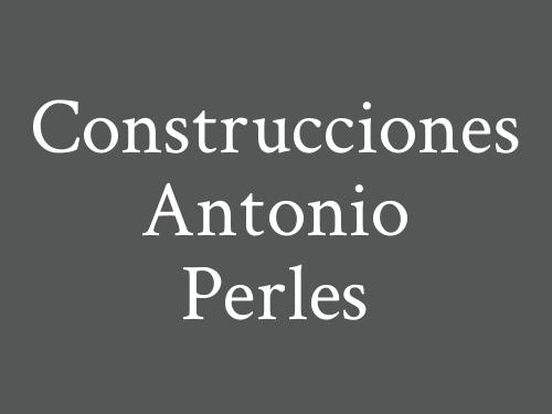 Construcciones Antonio Perles