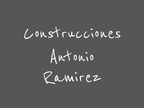 Construcciones Antonio Ramirez