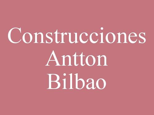 Construcciones Antton Bilbao