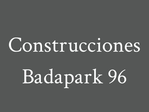 Construcciones Badapark 96