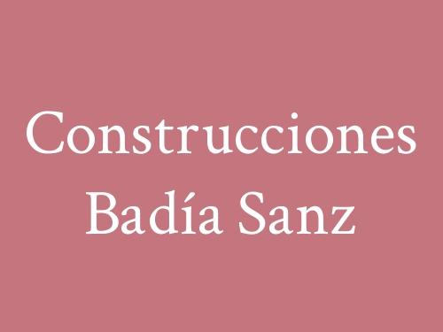 Construcciones Badía Sanz