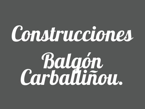 Construcciones Balgón Carballiñou.