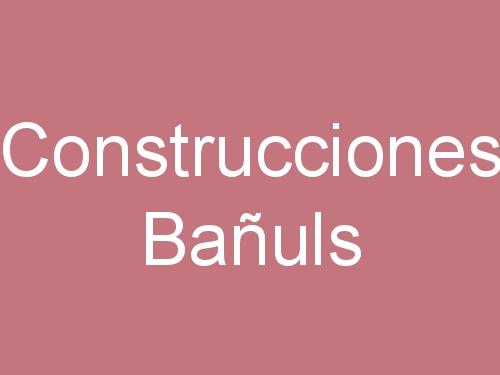 Construcciones Bañuls