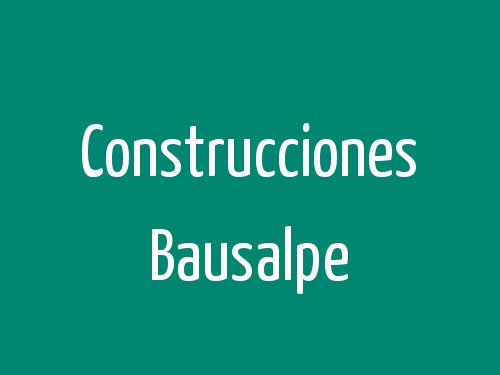Construcciones Bausalpe