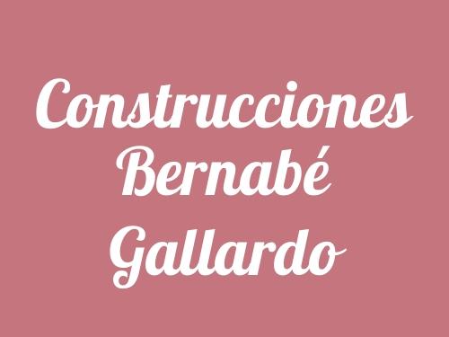 Construcciones Bernabé Gallardo