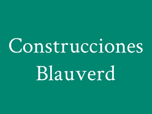 Construcciones Blauverd