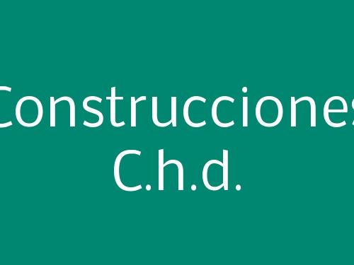 Construcciones C.h.d.