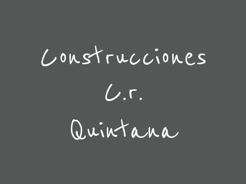 Construcciones C.r. Quintana