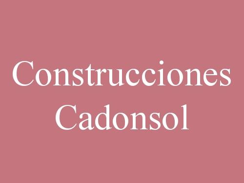 Construcciones Cadonsol