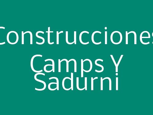 Construcciones Camps Y Sadurni