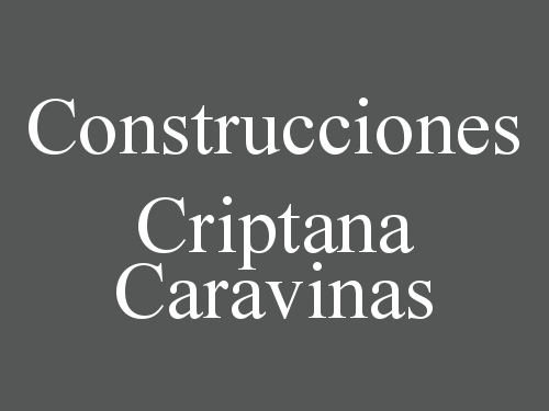 Construcciones Criptana Caravinas